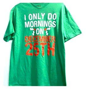 Men's Christmas Holiday Funny T-Shirt